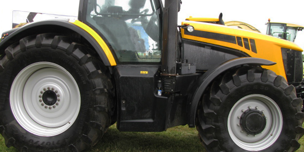 JCB tractor and agricultural parts